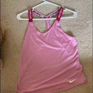 Pink Nike Racerback Tank Top